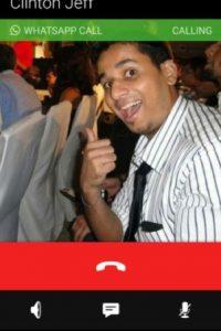 Esta es la interfaz de llamada en WhatsApp. Foto:Android Police