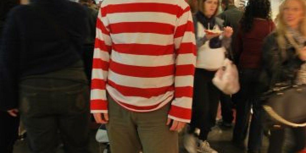 Reto: ¿Pueden encontrar a este Wally de carne y hueso?