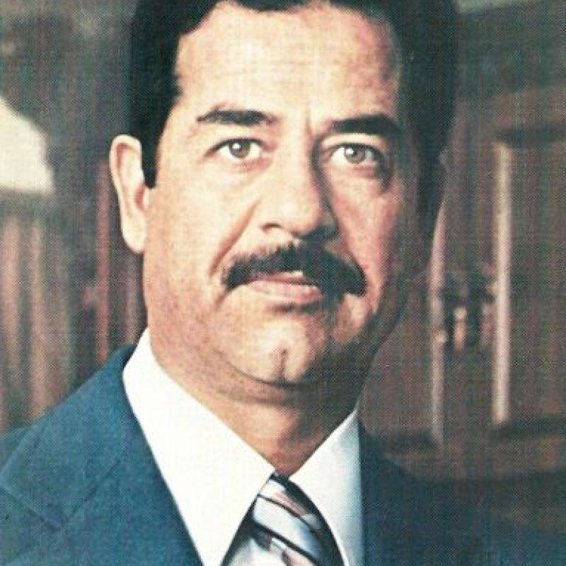 1979: Saddam Hussein comienza su mandato Foto:Wikipedia