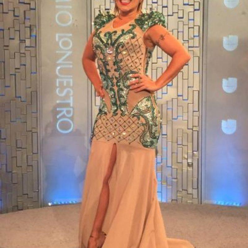 Alejandra Guzmán Foto:Vía Facebook.com/Premiolonuestro