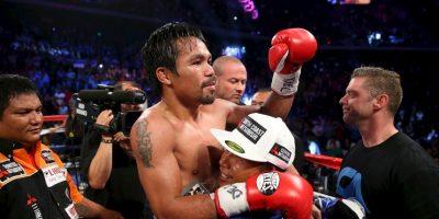Aunque ha venido a menos, aún es uno de los peleadores más grandes de la actualidad Foto:Getty