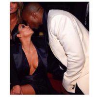 Un beso para Kim Foto:Getty Images