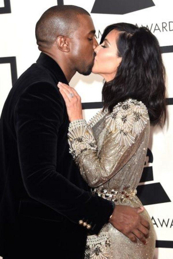 ¿Rosando el trasero de Kim? Foto: Getty Images