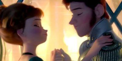 """Los personajes de """"Frozen"""" también la imitaron. Foto:Tranceart Violeta"""