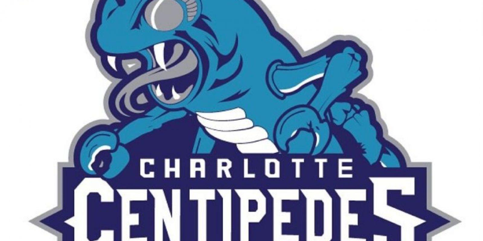 """Centipede"" en el logo de Charlotte Hornets. Foto:instagram.com/ak47_studios"