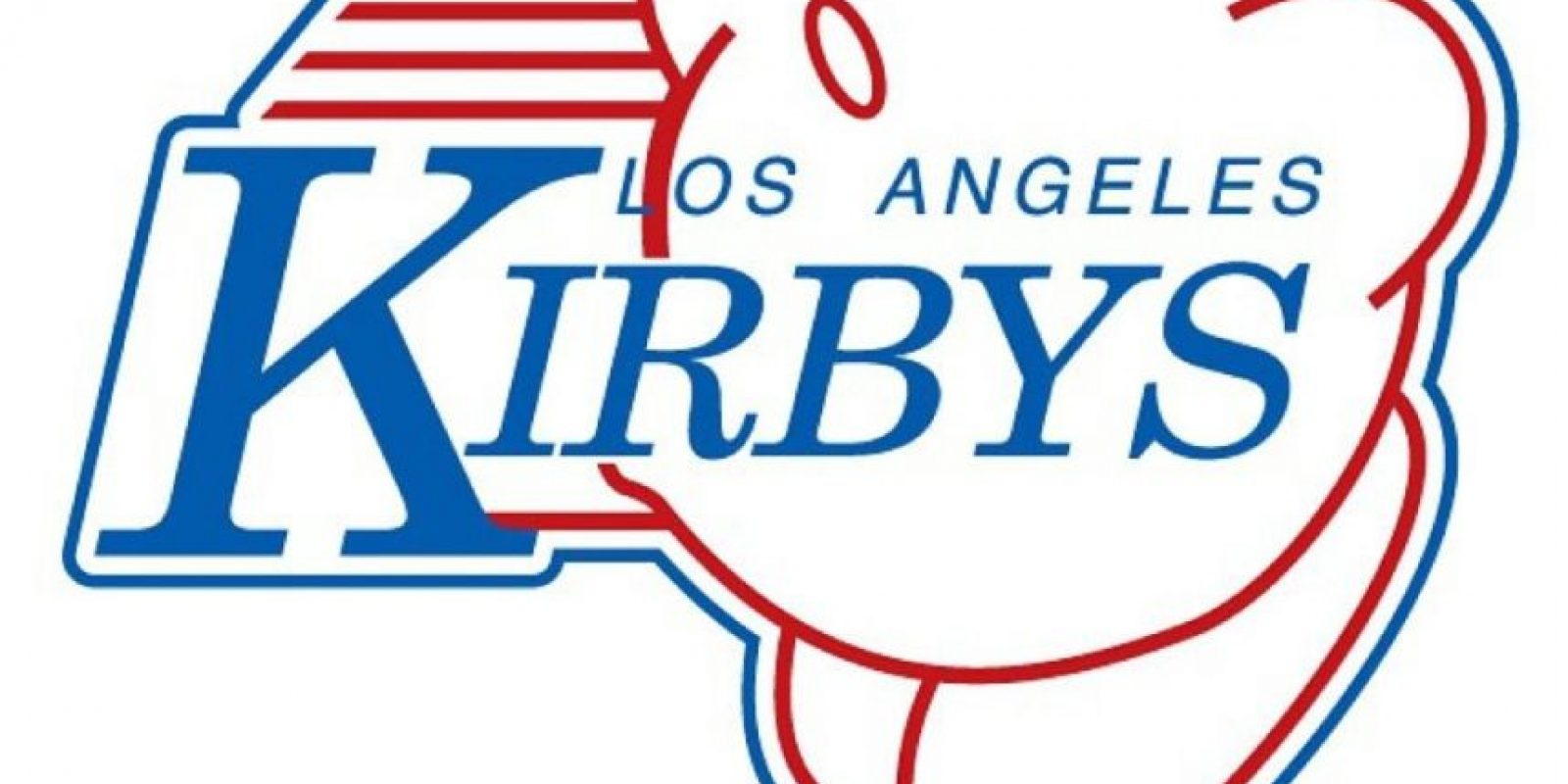 """Kirby"" de ""Kirby's Dream Land"" en el logo de Los Angeles Clippers. Foto:instagram.com/ak47_studios"