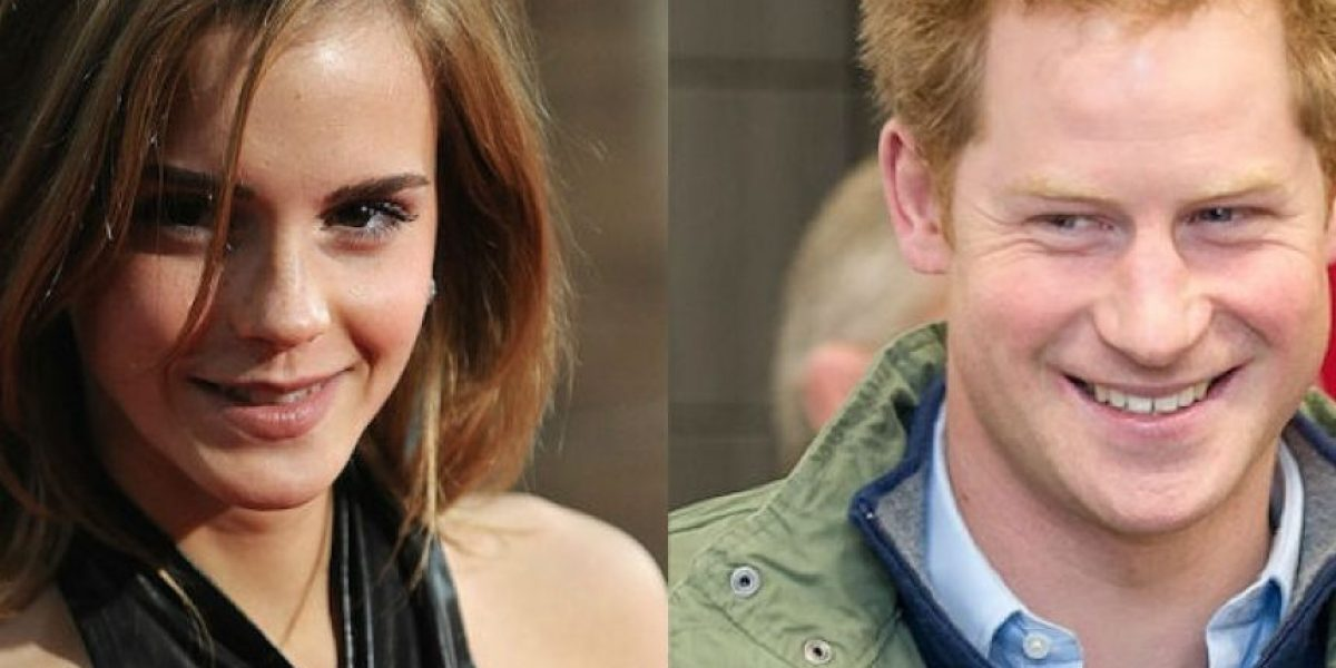 ¿El príncipe Harry y Emma Watson tuvieron una cita secreta?