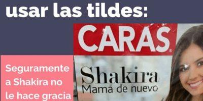 """Inspiraron """"Acción Ortográfica Madrid"""", en España. Ellos también corrigen la ortografía que hay en redes sociales y medios, entre otros mensajes. Foto:Acción Ortográfica Madrid/Facebook"""