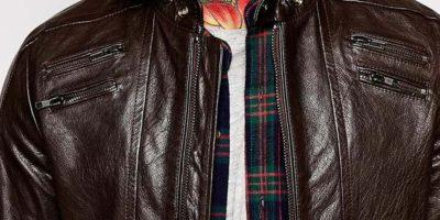 Si quieren algo más exclusivo y lujoso pero adaptable a su presupuesto, ASOS les ofrece una chaqueta Diesel por 953 dólares, de cuero puro. Foto:ASOS