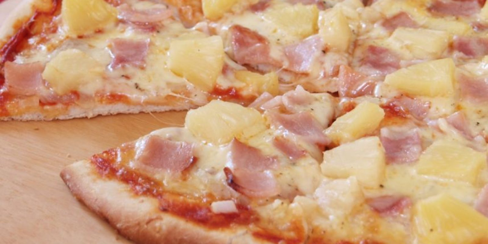 Pizza y piña Foto: Pinterest