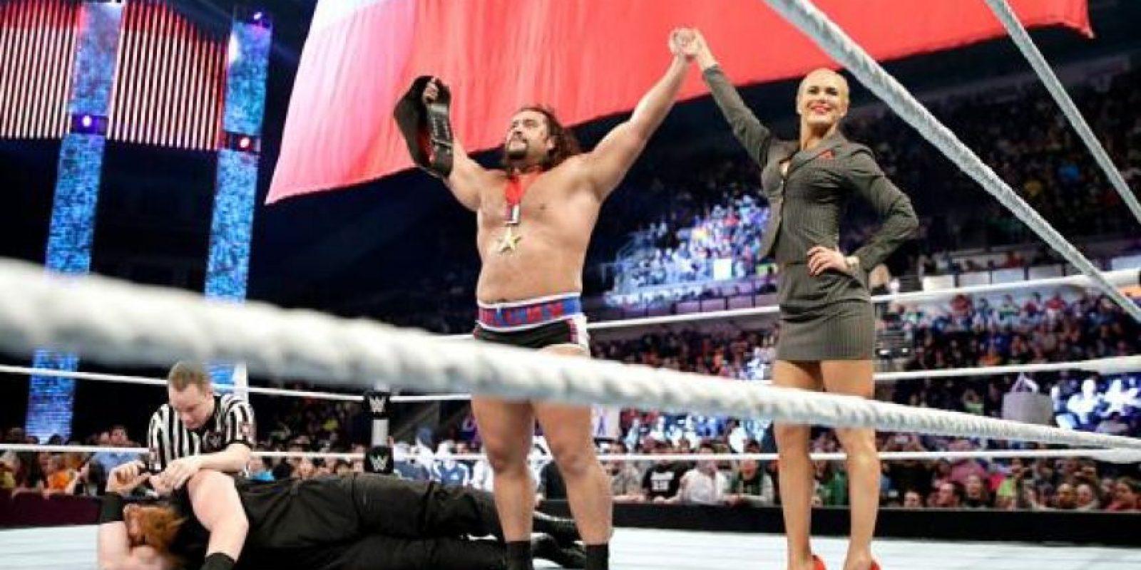 Rusev pondrá en juego el título de Estados Unidos Foto:WWE