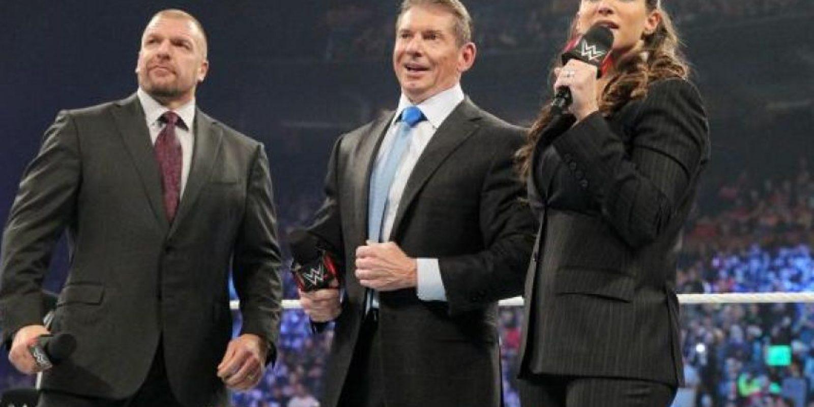 Es uno de los empresarios deportivos más exitosos Foto:WWE