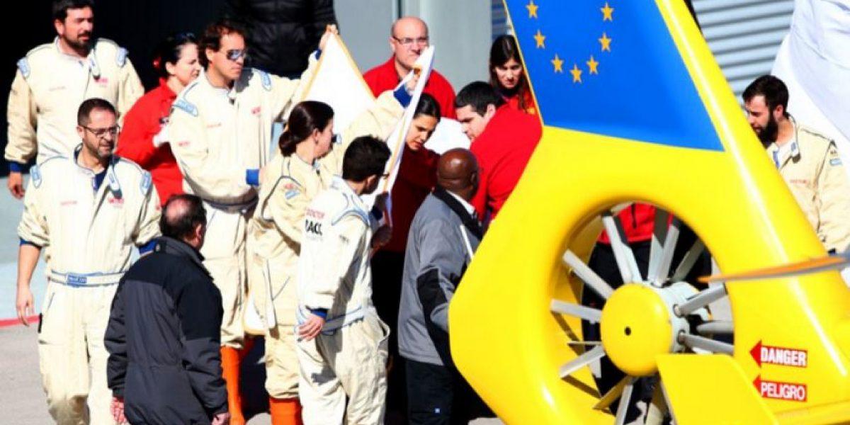 Las fotos del accidente de Fernando Alonso que lo tienen hospitalizado