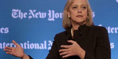 Margaret Whitman- Es la CEO de Hewlett-Packard y ocupa el puesto 17 en la lista de Fortune 500. Whitman, de 58 años, cuenta con una Maestría de la Escuela de Negocios de Harvard. Tiene dos hijos. Foto:Getty