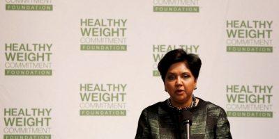 Indra Nooyi- Es la CEO de Pepsi. Tiene 59 años, está casada y tiene dos hijos. Nooyi cuenta con una Maestría en Administración de Empresas de la Universidad de Yale. Foto:Getty