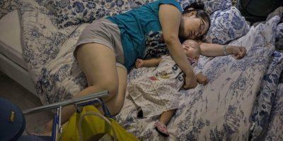 Si dormimos poco aumenta la noradrenalina, hormona que provoca estrés. Foto:Getty Images