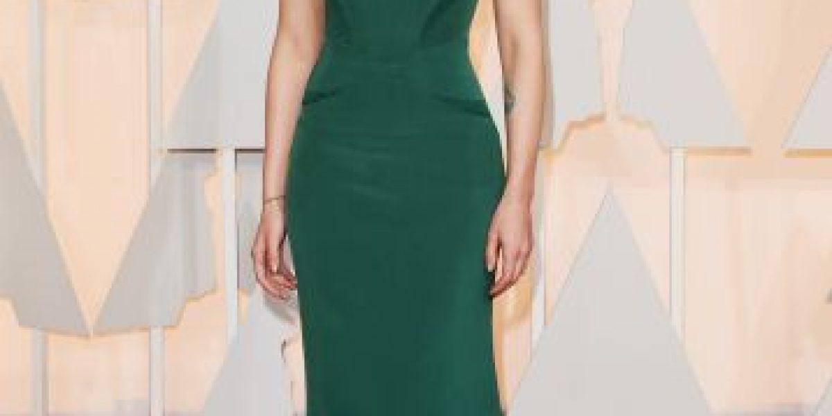 FOTOS: Scarlett Johansson y su despampanante look en los Oscar 2015