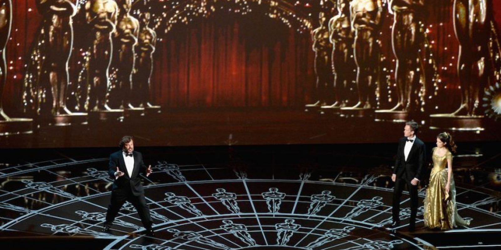 Jack Black en los Oscar 2015. Foto:Getty Images