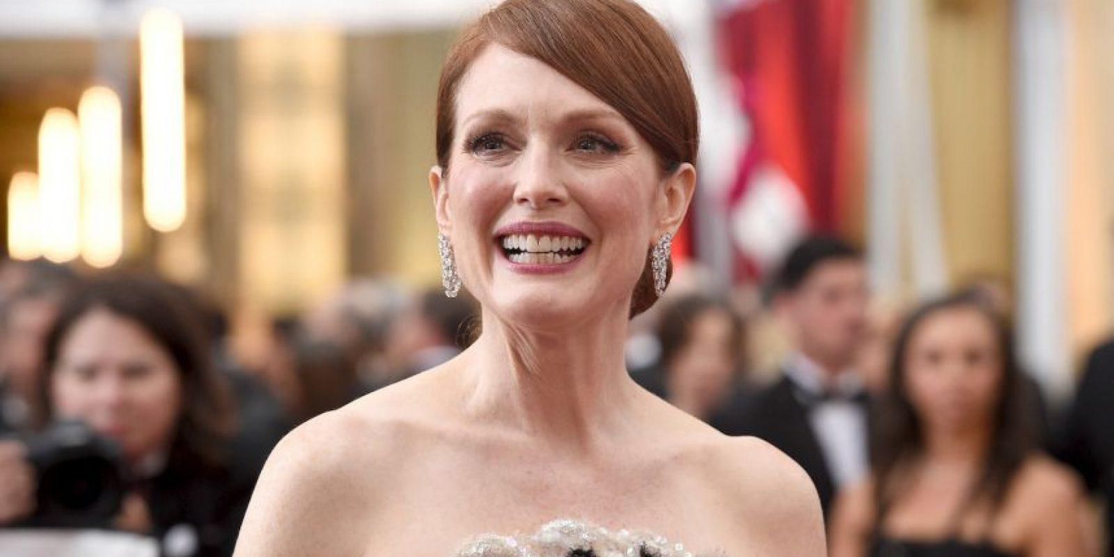 """Julianne Moore ganó el Oscar a Mejor actriz por su papel en """"Still Alice"""" Foto:Getty Images"""