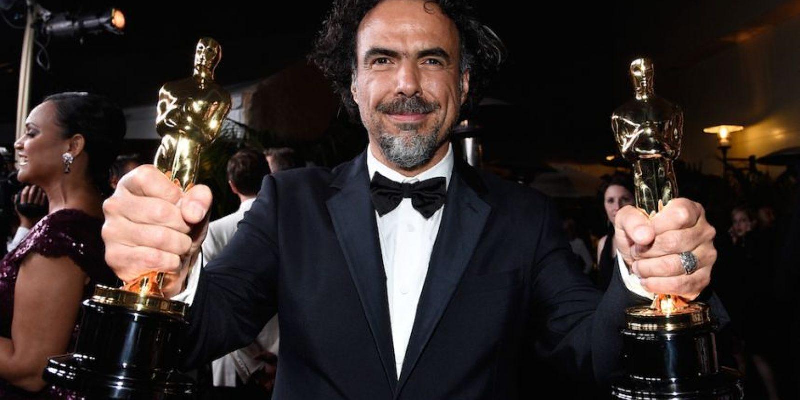 """González Iñárritu obtuvo el Oscar a """"Mejor película"""", """"Mejor director"""" y """"Mejor guión original"""". Foto:Getty Images"""