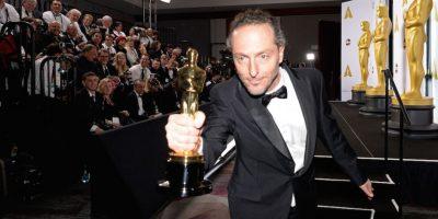 """Lubezki obtuvo su segunda estatuilla consecutiva tras ganar en 2014 por """"Mejor fotografía"""" en """"Gravity"""". Foto:Getty Images"""