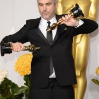 Alfonso Cuarón obtuvo dos estatuillas doradas en los Oscar 2014. Foto:Getty Images