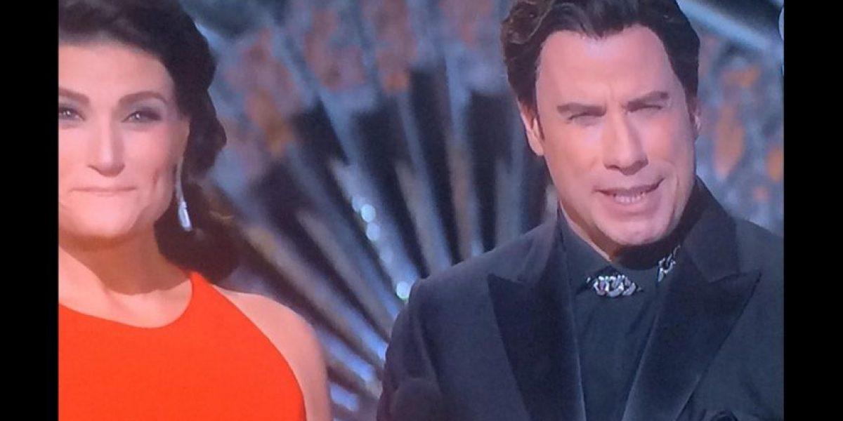 John Travolta volvió a dar de qué hablar, esta vez por su extraña apariencia