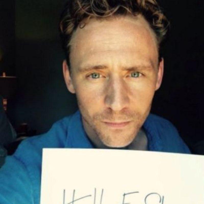 "Tom Hiddleston apoya la iniciativa ""HeForShe"" Foto:Twitter"