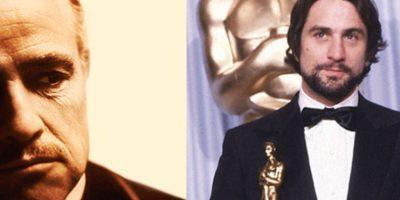 1. Marlon Brando y Robert De Niro han sido los únicos actores en ganar el Óscar por interpretar el mismo papel: el de Don Corleone en El padrino. Don Corleone no es sólo uno. En la versión de Coppola hay varios. Es así que estos dos excelentes actores recibieron el premio de Mejor Actor (Brando en 1972) y Mejor Actor de Reparto (De Niro en 1974) por representar el mismo personaje.