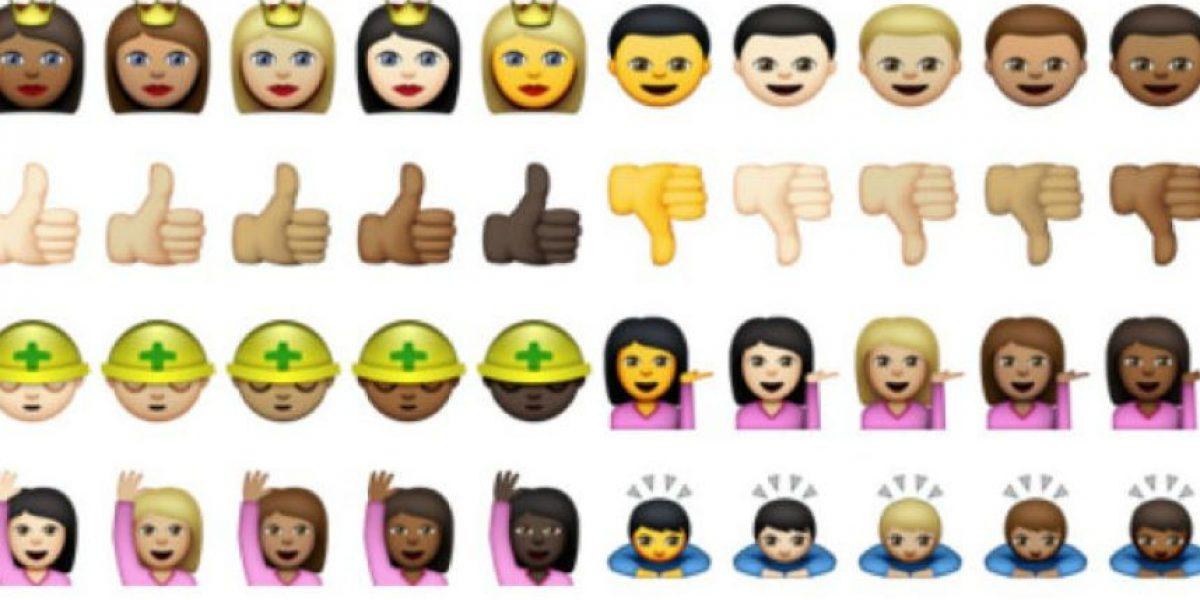 FOTOS: Así son los nuevos emojis de Apple con diversidad cultural