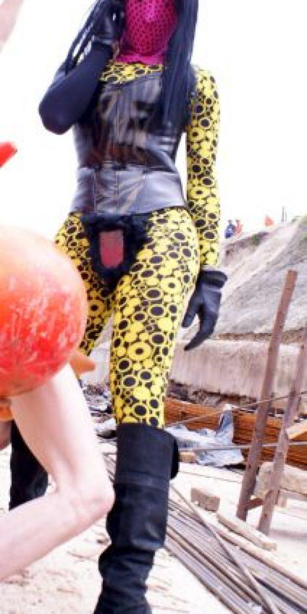 ABCDEFG HIJKLMN OPQRST UVWXYZ también trabaja como modelo fetiche Foto:Cortesía