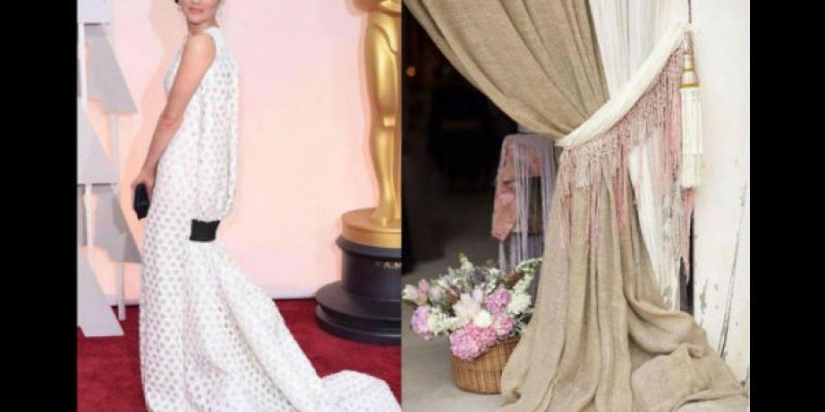 FOTOS: Las burlas al vestido de Marion Cotillard en los Óscar 2015