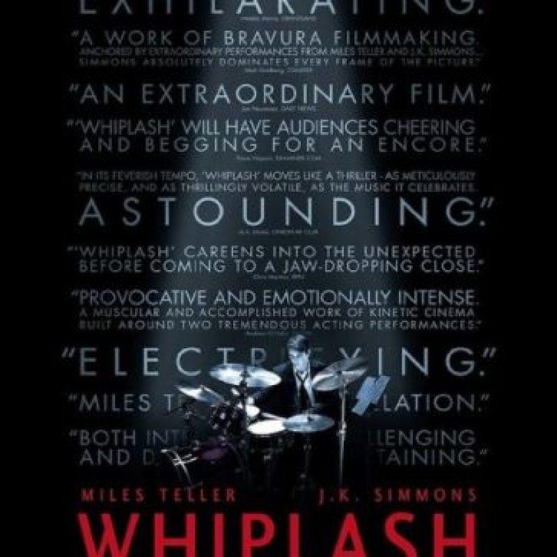 """La mejor Mezcla de sonido fue para """"Whiplash"""""""
