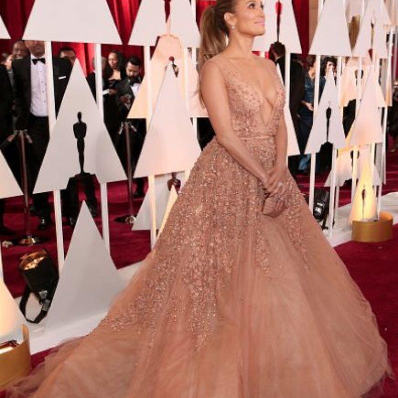 Otra mujer traía su vestido. Foto:Getty Images