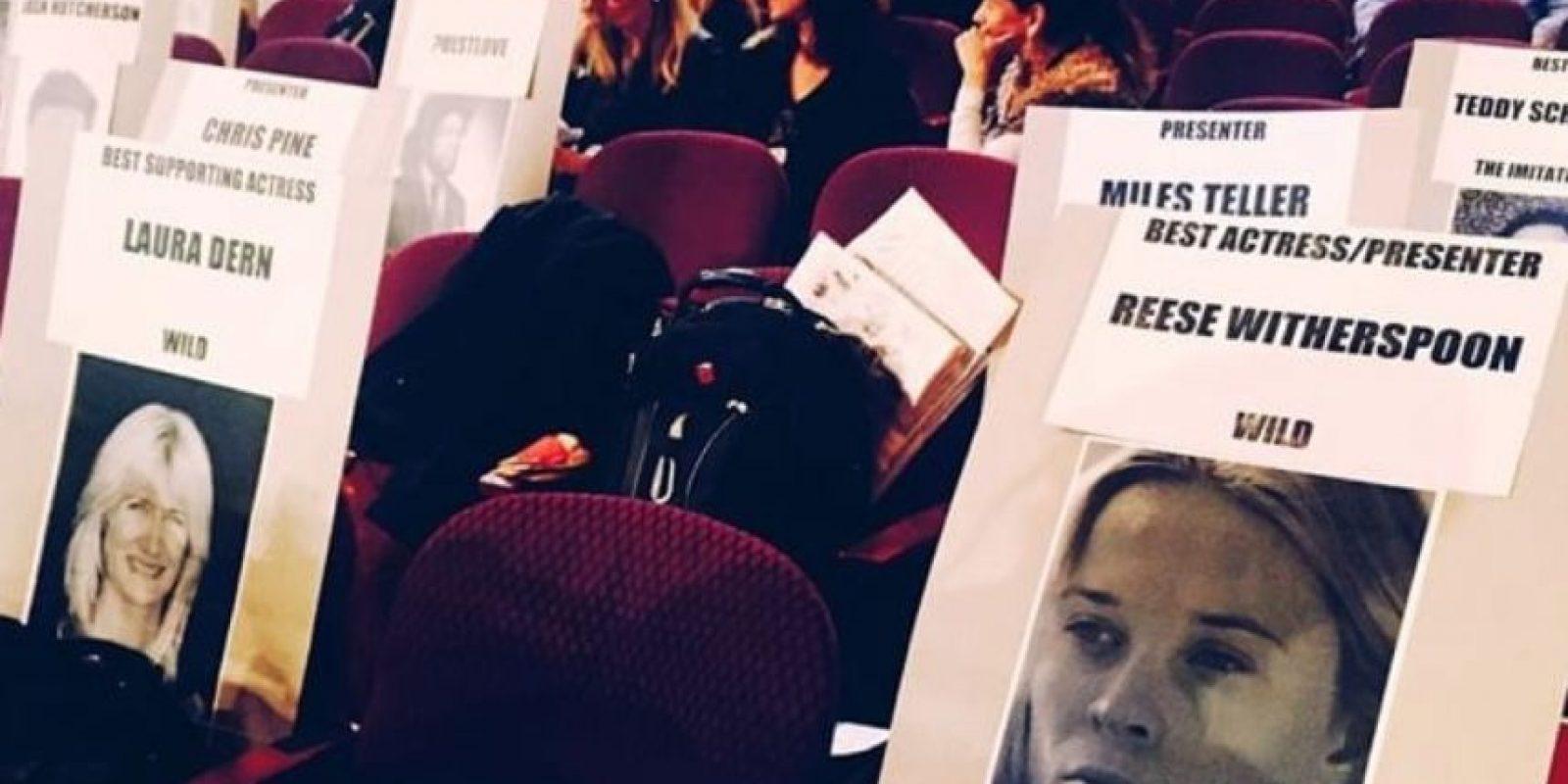 Así asignan las sillas. Foto:Instagram