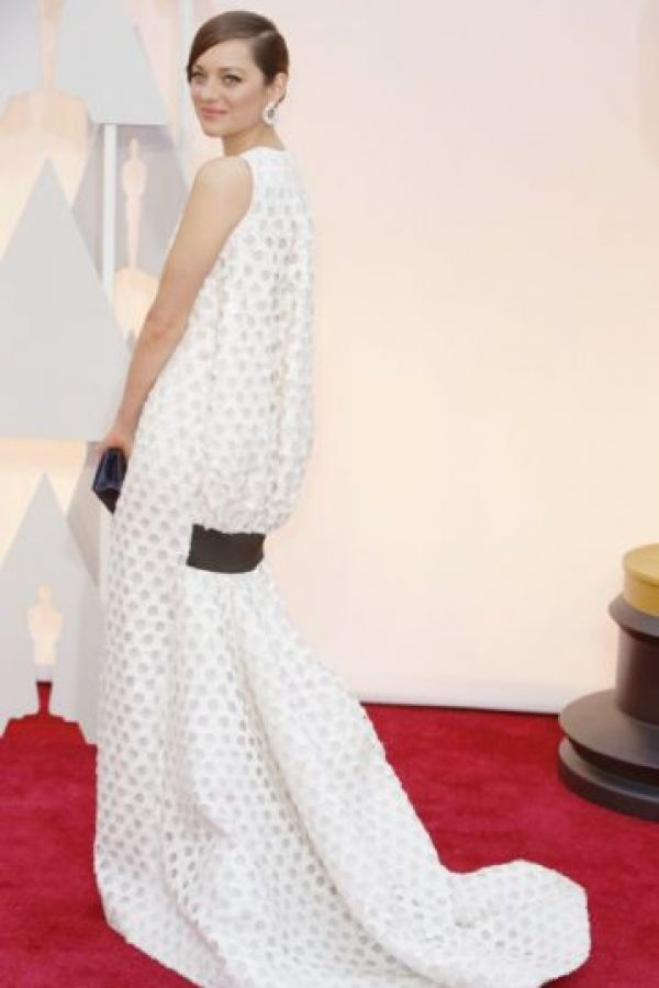 Marion Cotillard en Dior. Foto: Getty Images