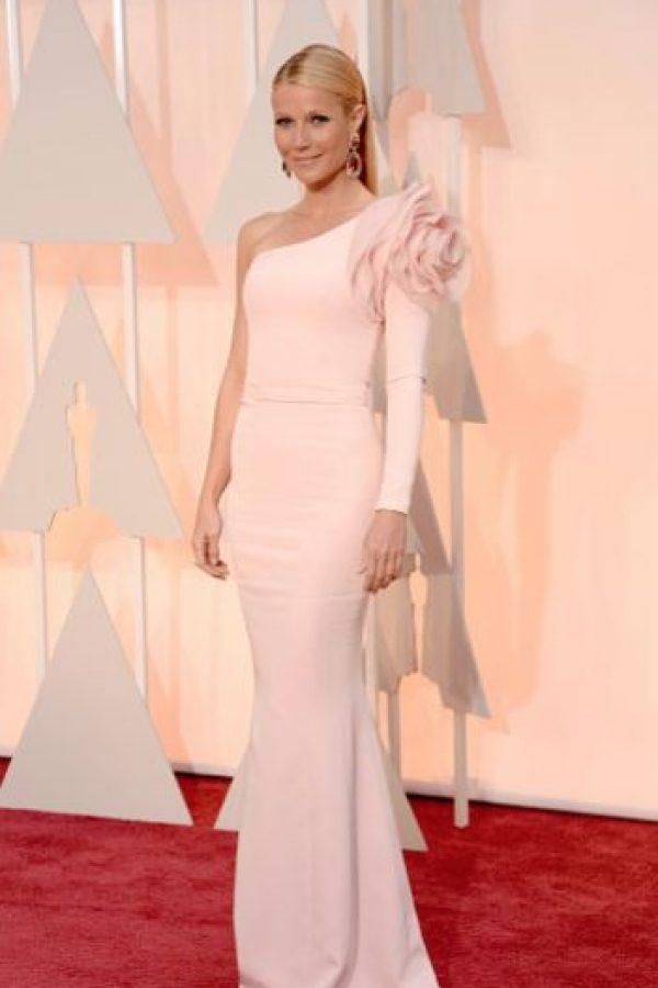 Gwyneth Paltrow también sabe tener estilo. Foto:Getty Images