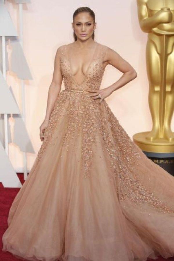 Jennifer López apareció así en los Oscar Foto:Getty Images