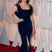 Jessic Chastain, con vestidos más ceñidos Foto:Getty Images