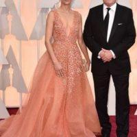 La esposa de Robert Duvall llevó un vestido similar. Foto:Getty Images