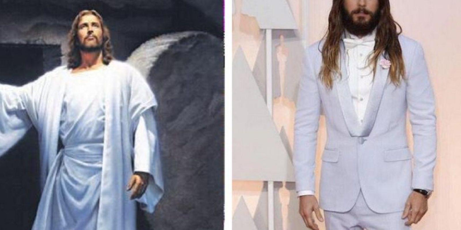 O como Jesús Foto:Twitter