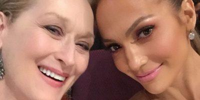 Jennifer Lopez y Meryl Streep Foto:Instagram