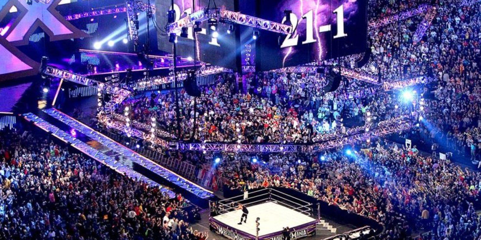 Y ahora su marca en el evento estelar se encuentra 21-1 Foto:WWE
