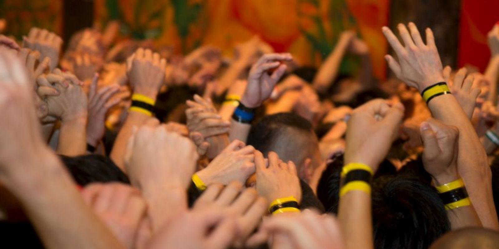 8. La creencia es que quienes logren tocarlo tendrán un año de fortuna. Foto:Getty