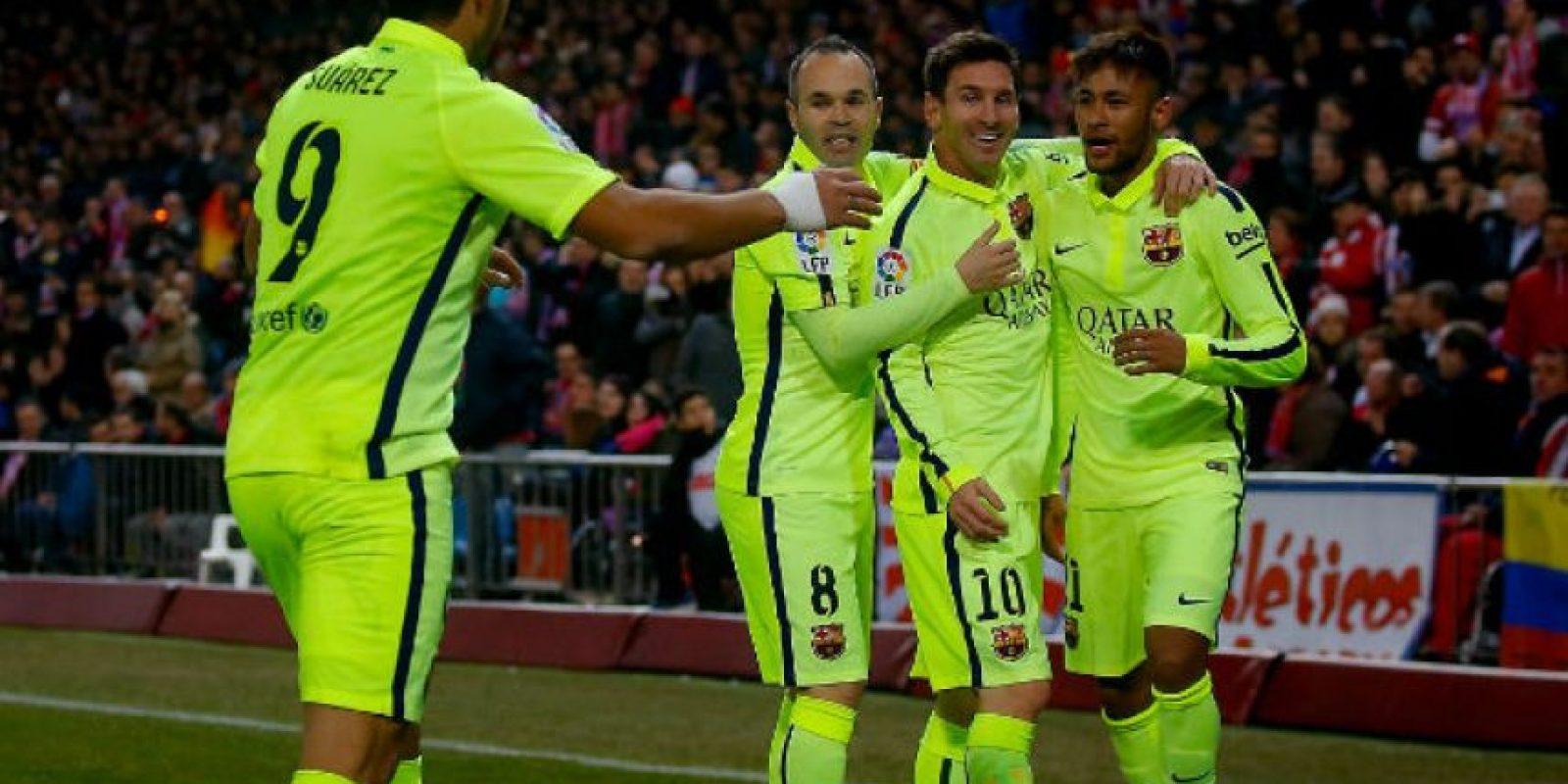 Los embarazos llegaron al Barcelona. Foto:Getty Images