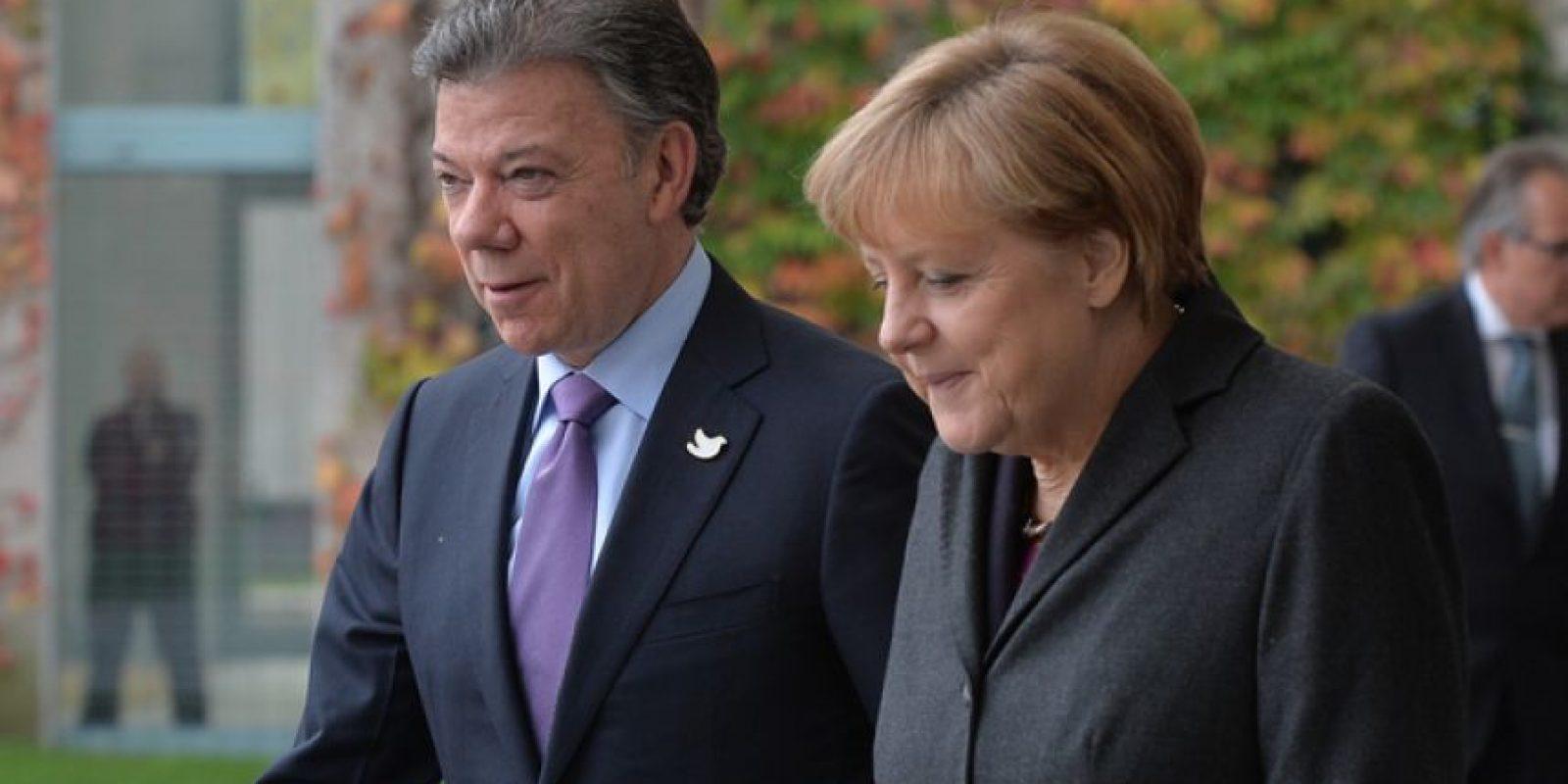 Canciller de Alemania, Angela Merkel.