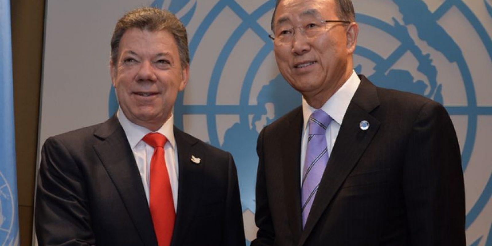 Secretario General de Naciones Unidas, Ban Ki Moon.