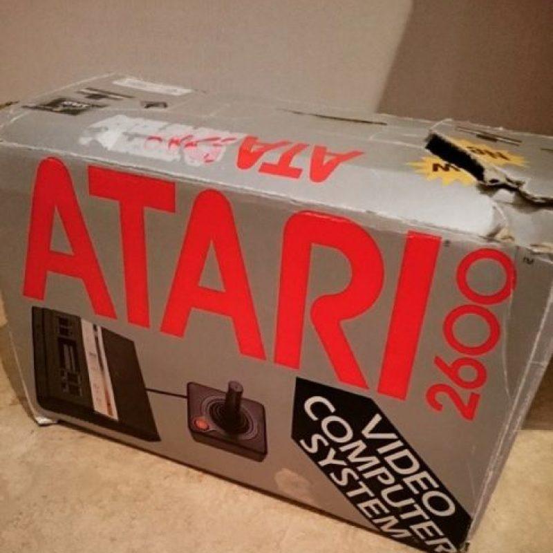 Un usuario mostró su empaque del Atari 2600. Foto:instagram.com/fluxarn