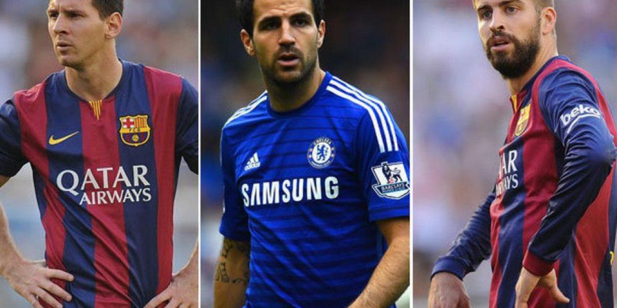 FOTOS Nueva polémica: Messi, Fábregas y Pique de