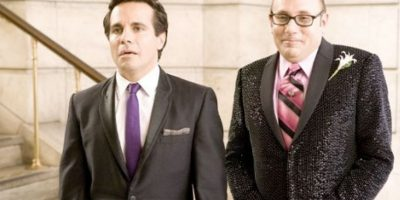 "Cómo no recordar el disparatado romance entre Anthony (Mario Cantone) y Stanford (Willie Garson) en la exitosa serie ""Sex and the City"" Foto: HBO"